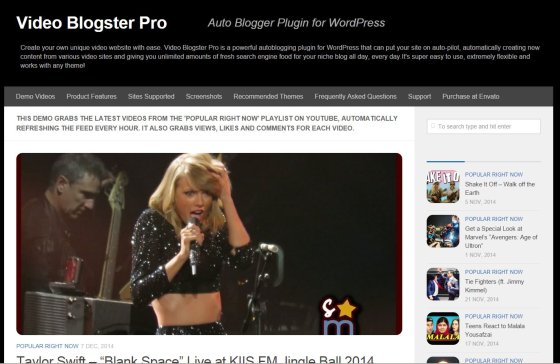 video blogster pro